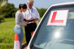 learner driver with instructor