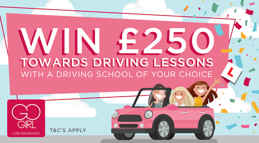 win £250 towards driving lessons