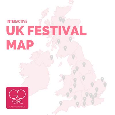 Map Of Uk Festivals.Uk Festivals 2017 Find The Best Festivals On Your Doorstep Go Girl