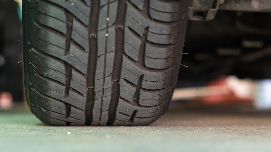 tyre depth